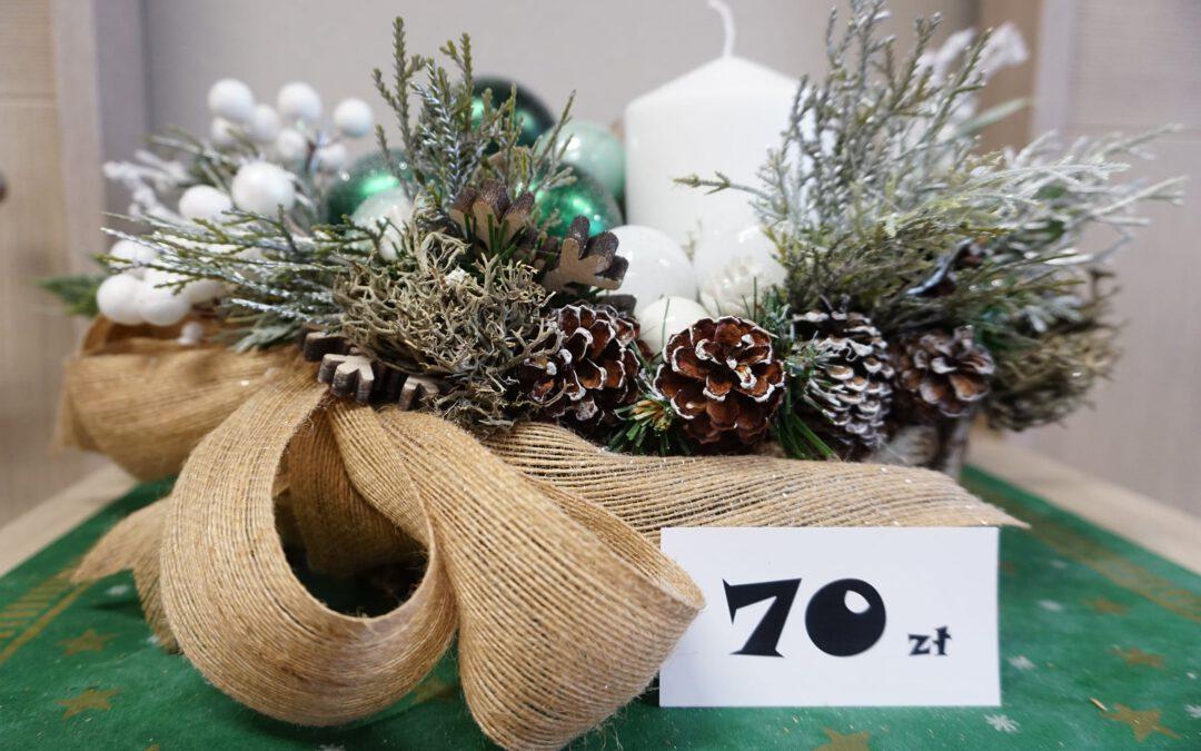 Stroiki i ozdoby świąteczne.