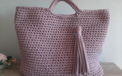Na sprzedaż torebka ze sznurka bawełnianego.